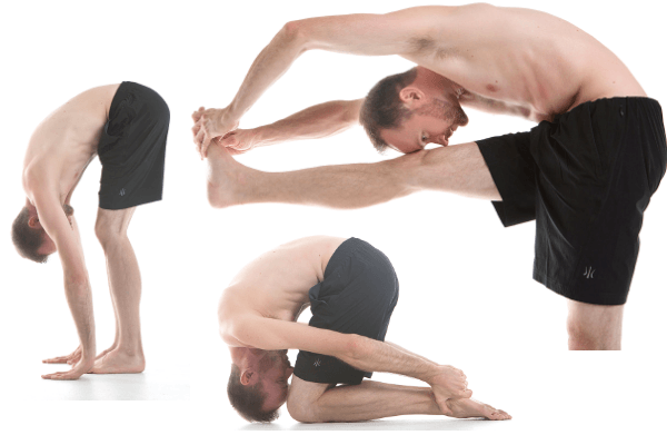5 Yoga Poses To Help With Slipped Disc Issues - Yoga With Landon