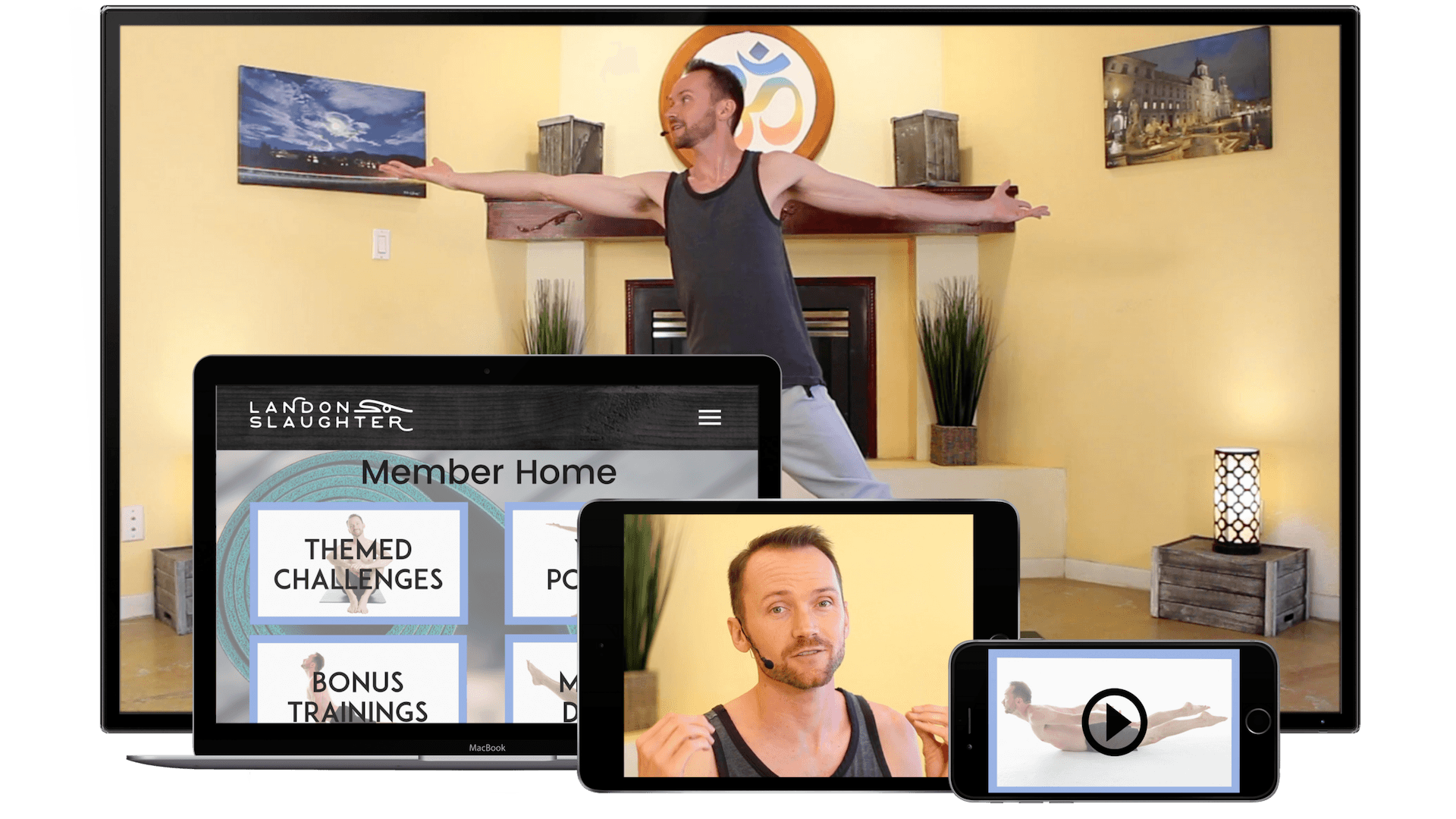 yoga from multiple devices