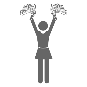 image of a cheerleader