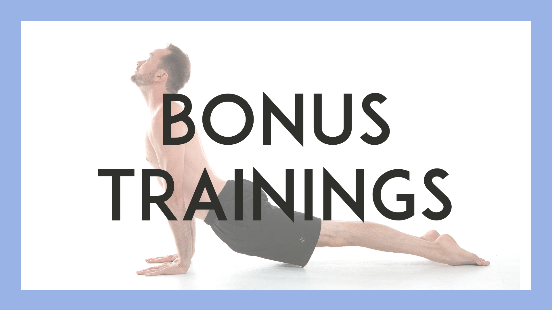 Image of Bonus Trainings