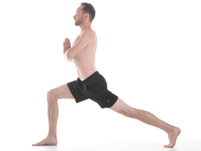 lunge pose image