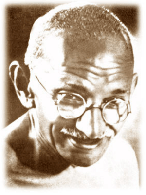 image of gandhi