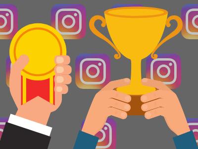 image of instagram challenge win