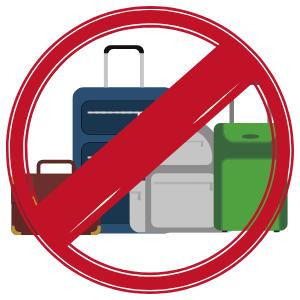 image of no baggage